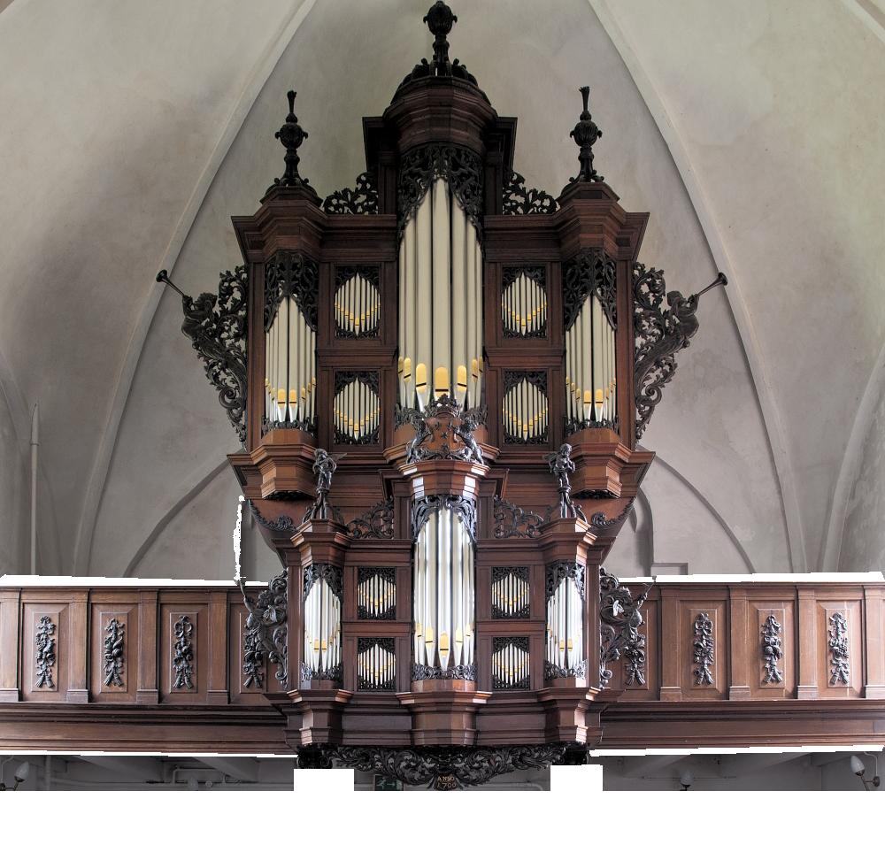 orgeltransparant